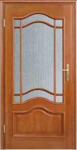 DEWRO drzwi jasne półszyba fala