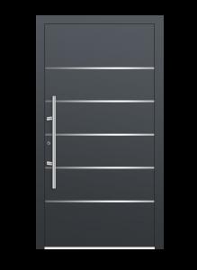 drzwi szare euroa model 1002