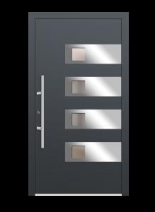drzwi szare euroa model 1004