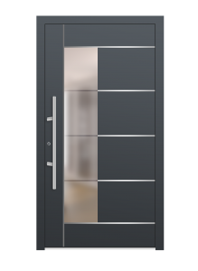 drzwi szare euroa model 1005