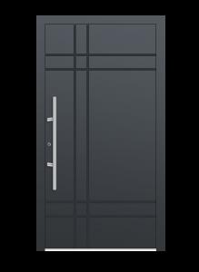 drzwi szare euroa model 1006