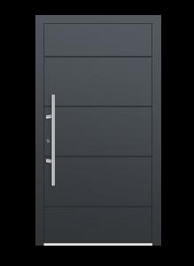 drzwi szare euroa model 1007