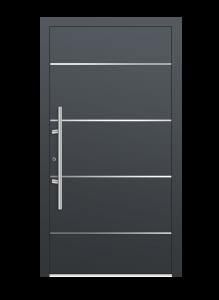 drzwi szare euroa model 1008