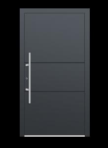 drzwi szare euroa model 1009