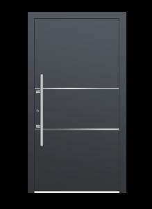 drzwi szare euroa model 1010