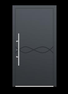 drzwi szare euroa model 1013