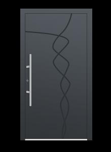 drzwi szare euroa model 1014