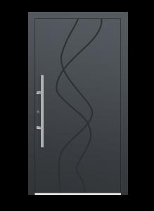drzwi szare euroa model 1015