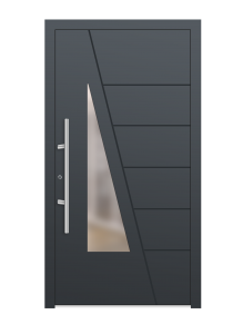 drzwi szare euroa model 1016