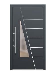 drzwi szare euroa model 1017