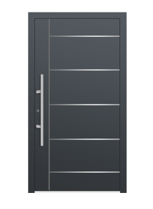 drzwi szare euroa model 1018