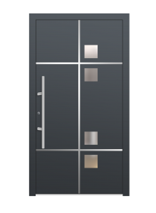 drzwi szare euroa model 2016