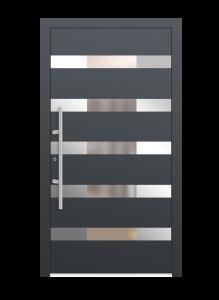 drzwi szare euroa model 3001
