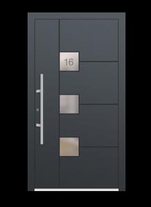 drzwi szare euroa model 3006