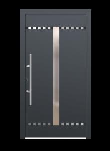 drzwi szare euroa model 3007