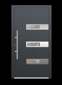 drzwi szare euroa model 3013