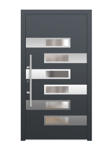 drzwi szare euroa model 3014