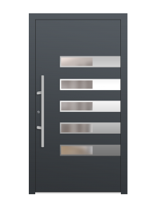 drzwi szare euroa model 3015