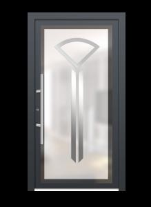 drzwi szare euroa model 4001