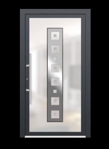 drzwi szare euroa model 4002