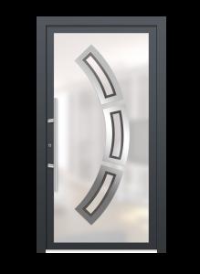 drzwi szare euroa model 4004