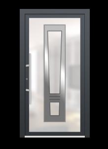 drzwi szare euroa model 4005