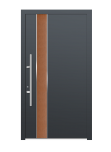 drzwi szare euroa model 4006