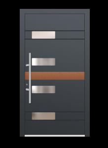drzwi szare euroa model 4008