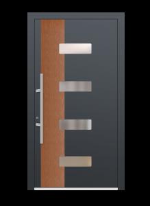 drzwi szare euroa model 4009