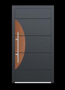 drzwi szare euroa model 4010