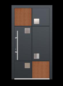 drzwi szare euroa model 4011