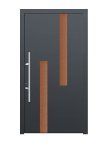 drzwi szare euroa model 4012