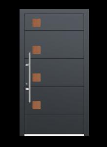 drzwi szare euroa model 4013