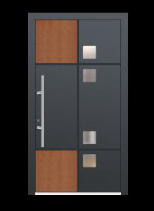 drzwi szare euroa model 4014
