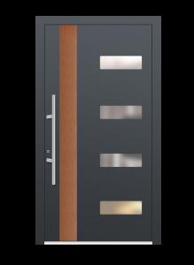 drzwi szare euroa model 4015