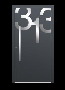 drzwi szare euroa model 5013