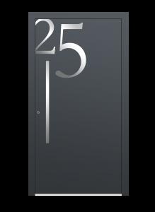 drzwi szare euroa model 5014