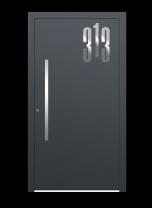 drzwi szare euroa model 5015