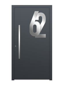 drzwi szare euroa model 5017