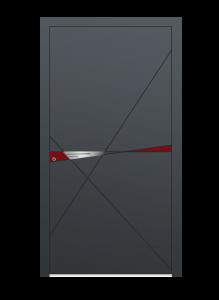 drzwi szare euroa model 5022