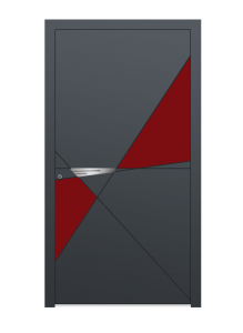 drzwi szare euroa model 5024