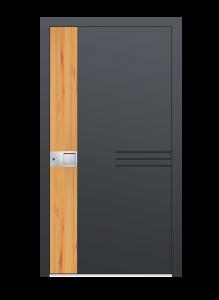 drzwi szare euroa model 5026