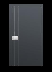 drzwi szare euroa model 5027