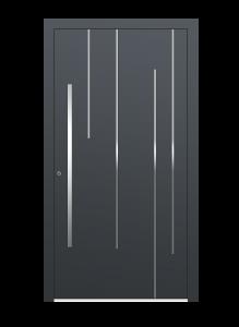 drzwi szare euroa model 5028