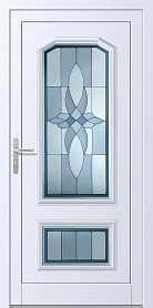 drzwi zewnętrzne białe